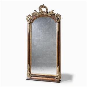 Century Monarch Fine Furniture Hawkes Crest Floor Mirror