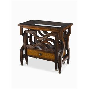 Century Monarch Fine Furniture Nesting Bookrack Canterbury Table