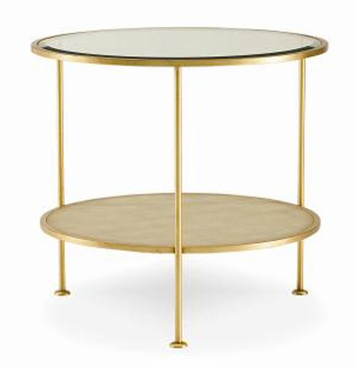 Monarch Fine Furniture Adele Round End Table by Century at Baer's Furniture