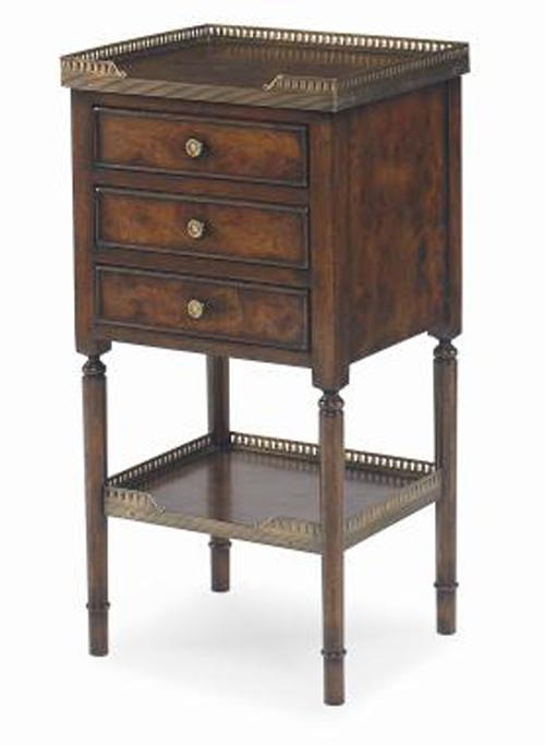 Monarch Fine Furniture Beckett Side Table by Century at Baer's Furniture