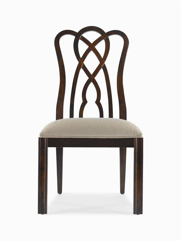 New Traditional Side Chair by Century at Baer's Furniture
