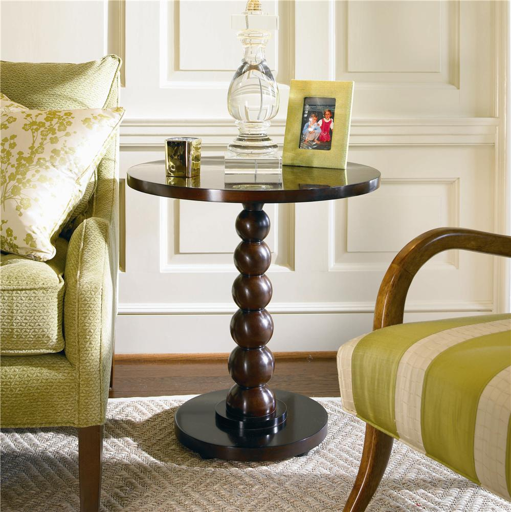 New Traditional Chairside Table by Century at Baer's Furniture