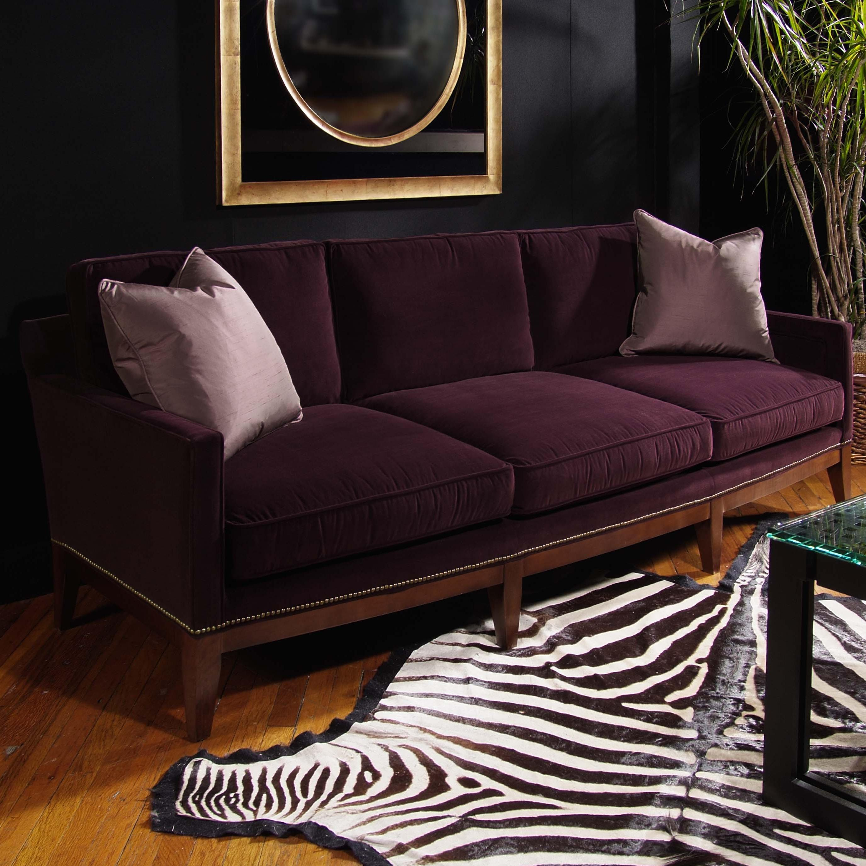 Signature Upholstered Accents Hilton Sofa by Century at Baer's Furniture