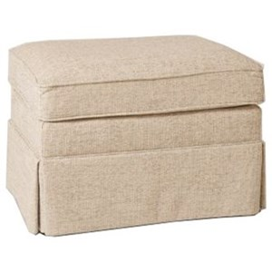Dover Ottoman with Skirted Base