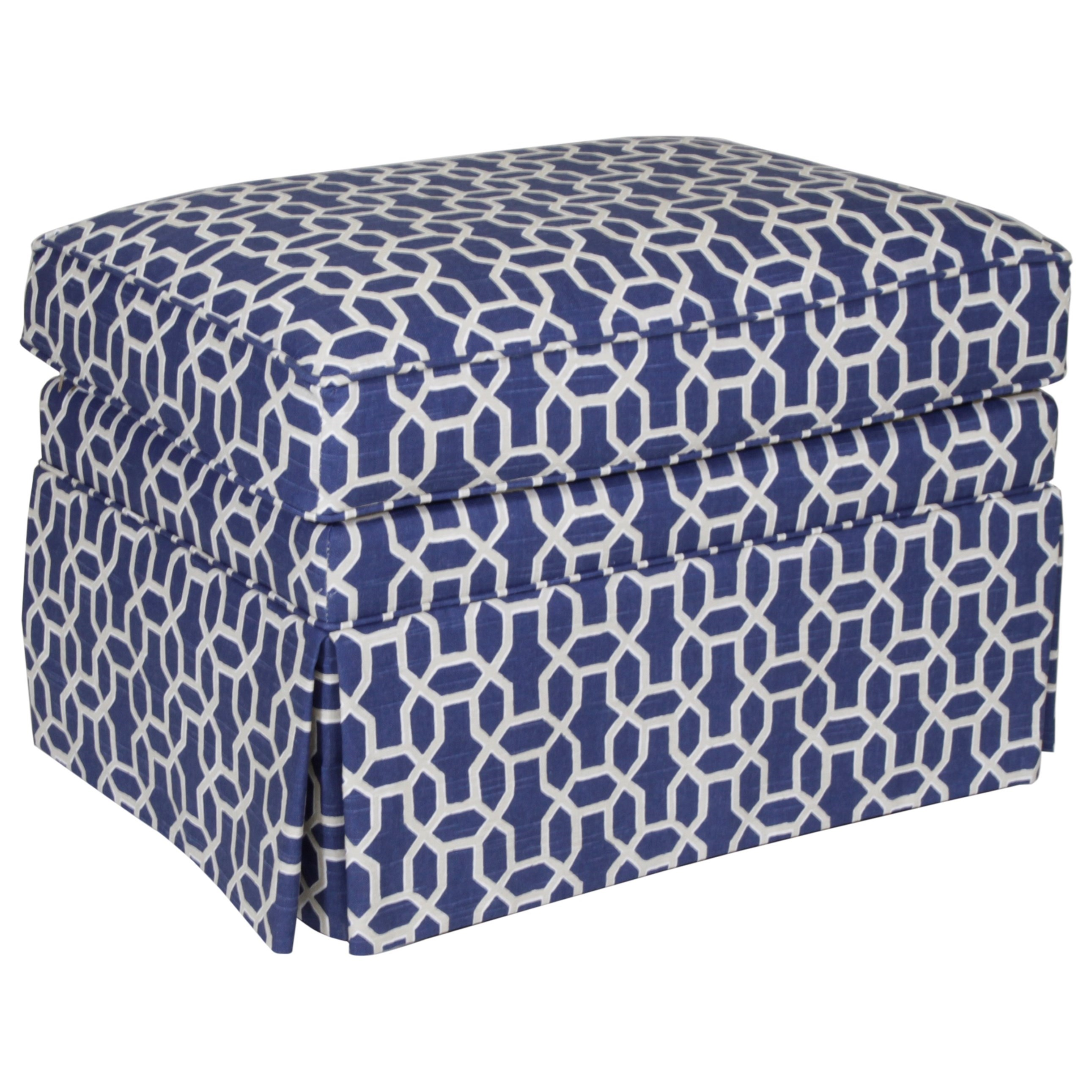 Studio Essentials Upholstery Dover Ottoman by Century at Baer's Furniture