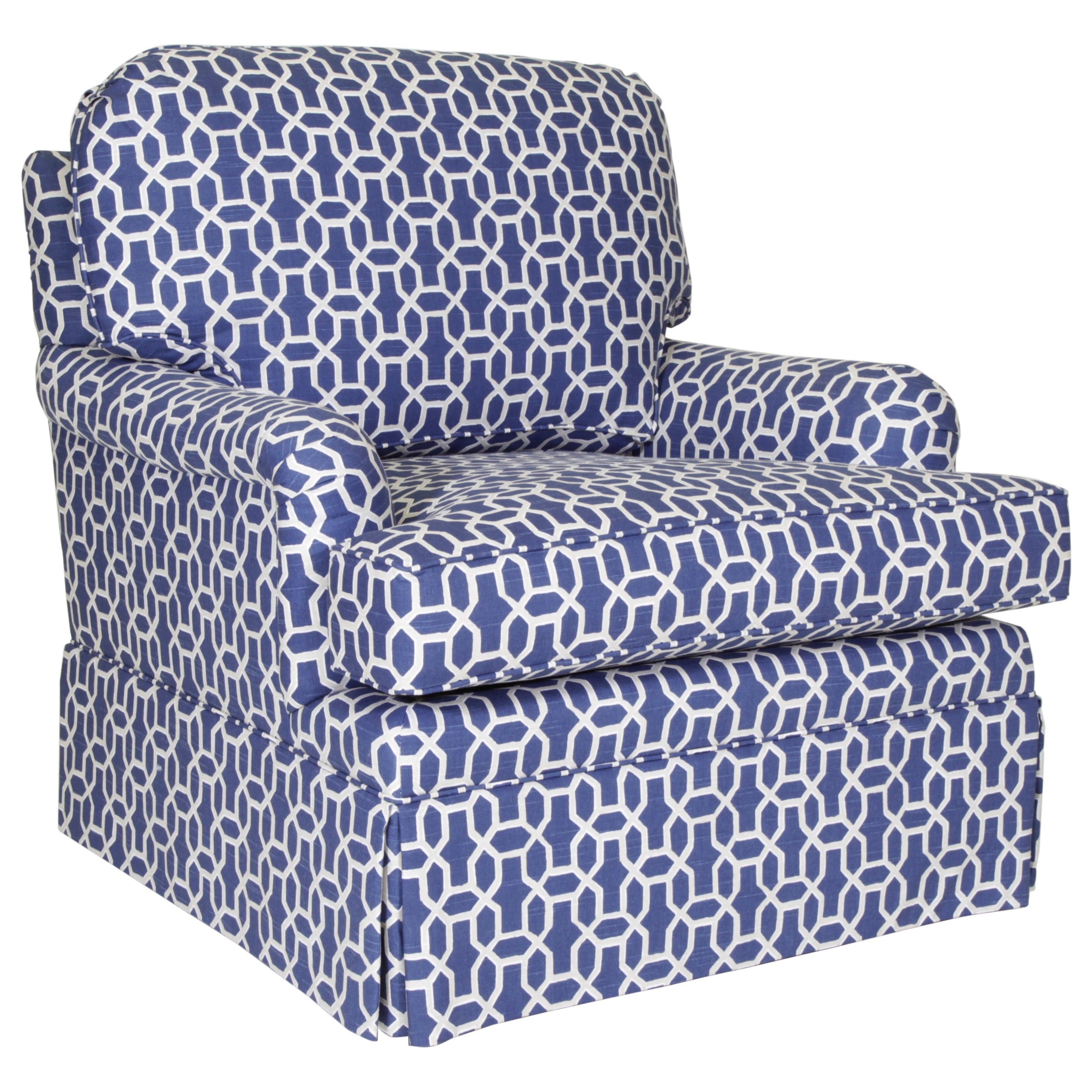Studio Essentials Upholstery Dover Chair by Century at Alison Craig Home Furnishings