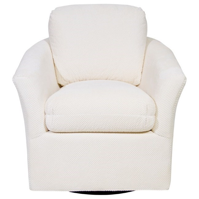 Studio Essentials Upholstery Mill Valley Swivel Chair by Century at Baer's Furniture