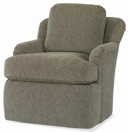 Studio Essentials Upholstery Swivel Chair by Century at Baer's Furniture