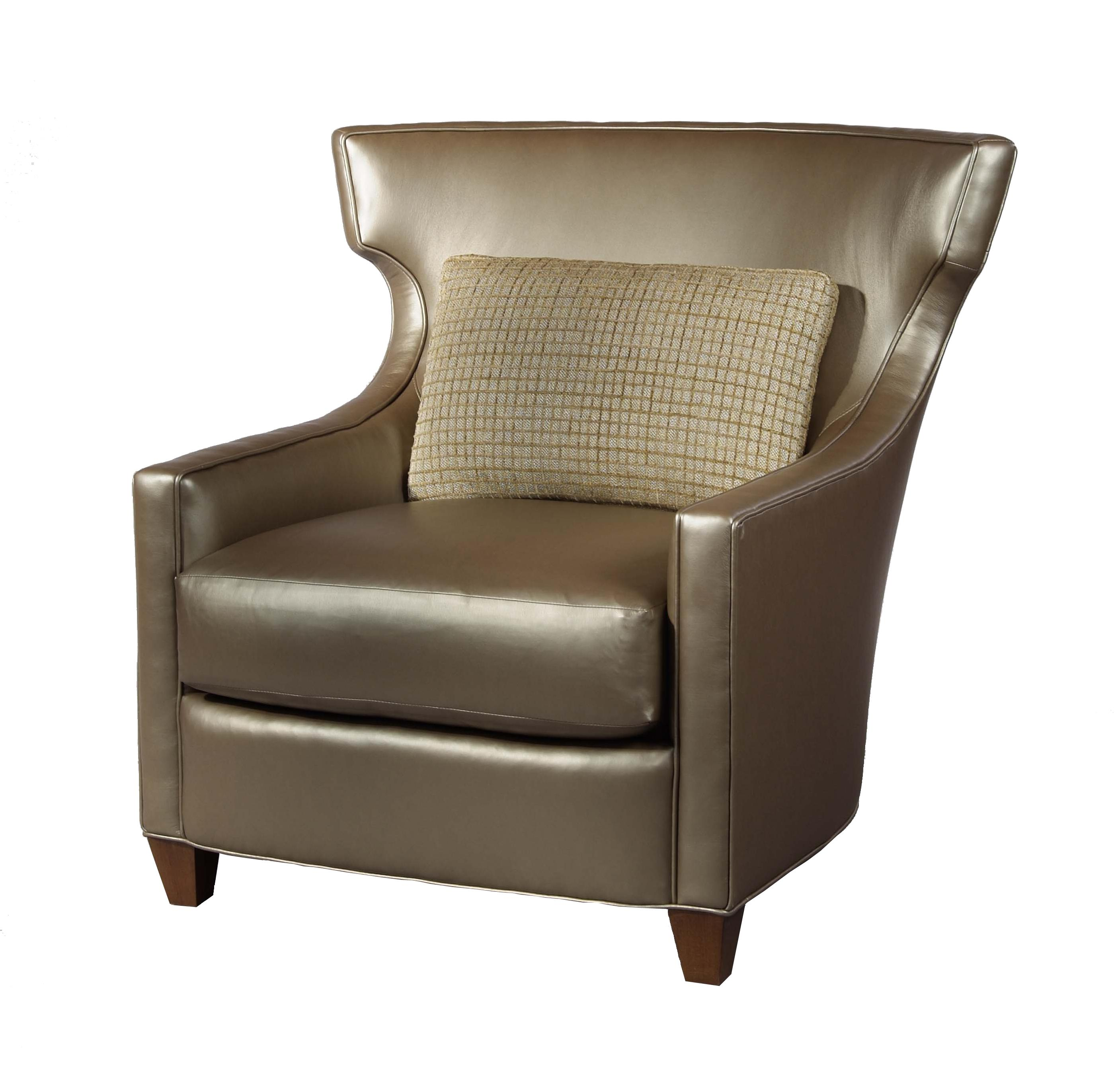 Studio Essentials Upholstery Hansen Wing Chair by Century at Alison Craig Home Furnishings