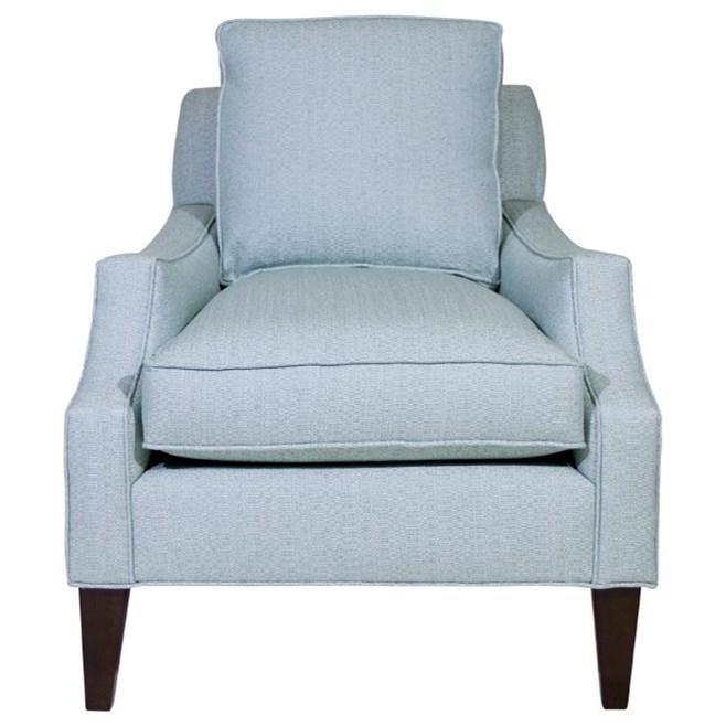Studio Essentials Upholstery Leonardo Chair by Century at Baer's Furniture