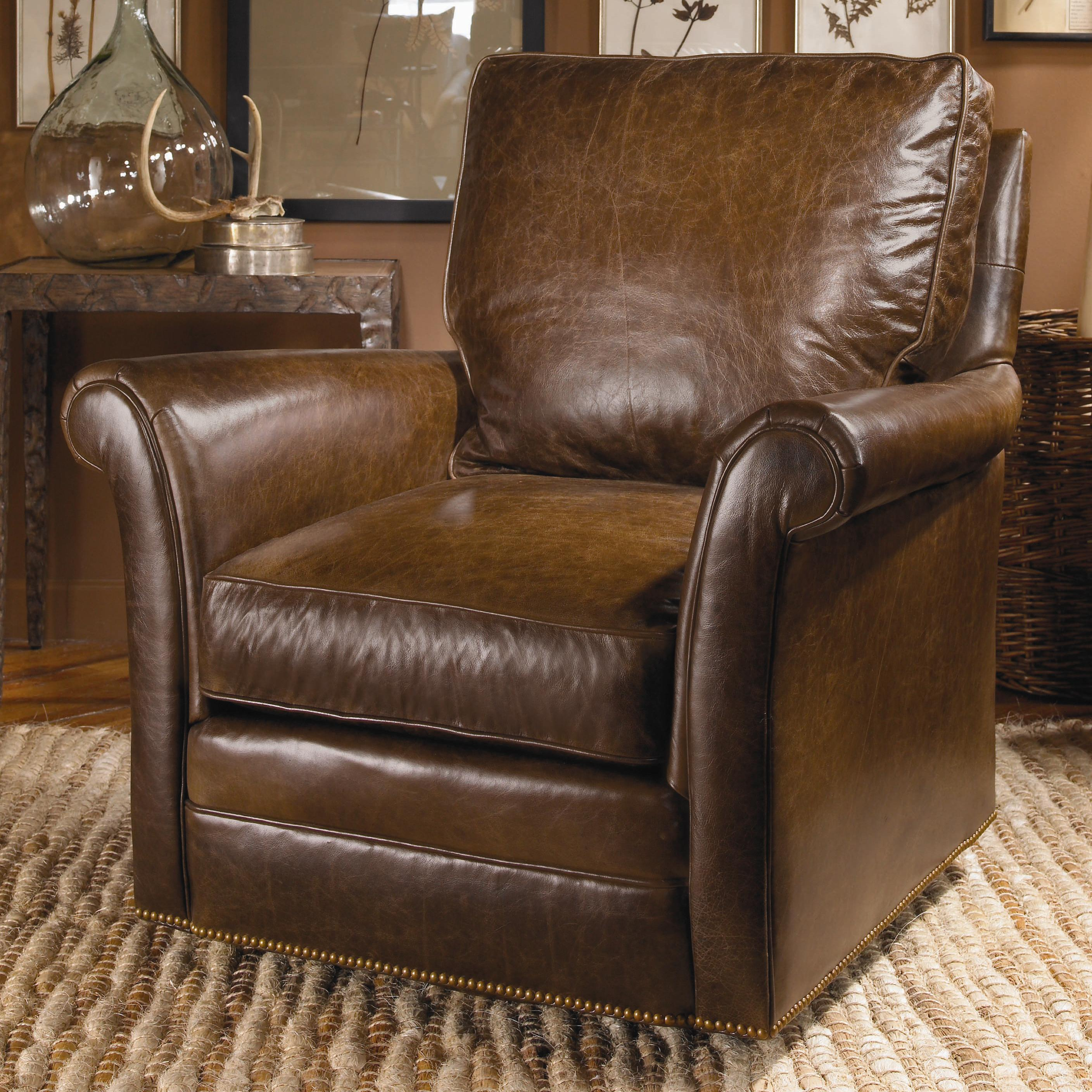 Swivel Chairs Century Traditional Swivel Chair  by Century at Baer's Furniture