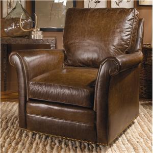 Century Swivel Chairs Century Traditional Swivel Chair