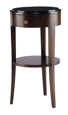 Tribeca  Chairside Table by Century at Baer's Furniture