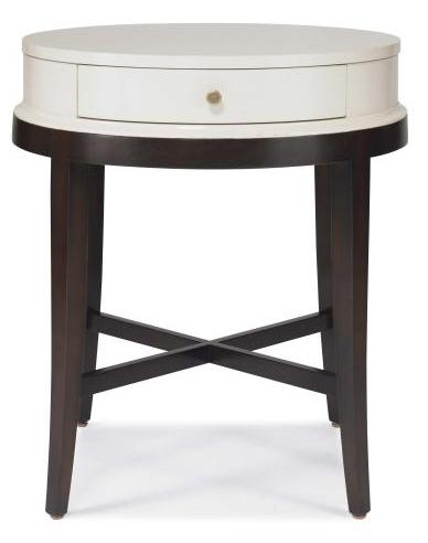 Tribeca  Lamp Table by Century at Alison Craig Home Furnishings