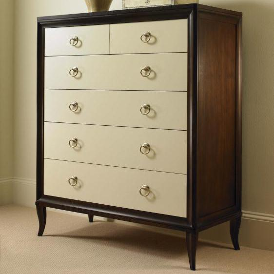 Tribeca  Tall Drawer Chest by Century at Baer's Furniture
