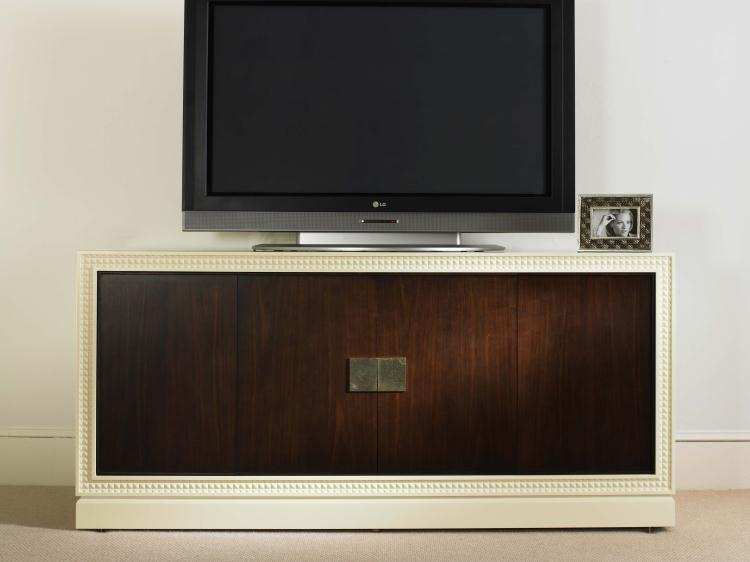 Tribeca  Entertainment Console by Century at Baer's Furniture