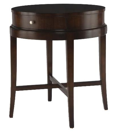 Tribeca  Lamp Table by Century at Baer's Furniture