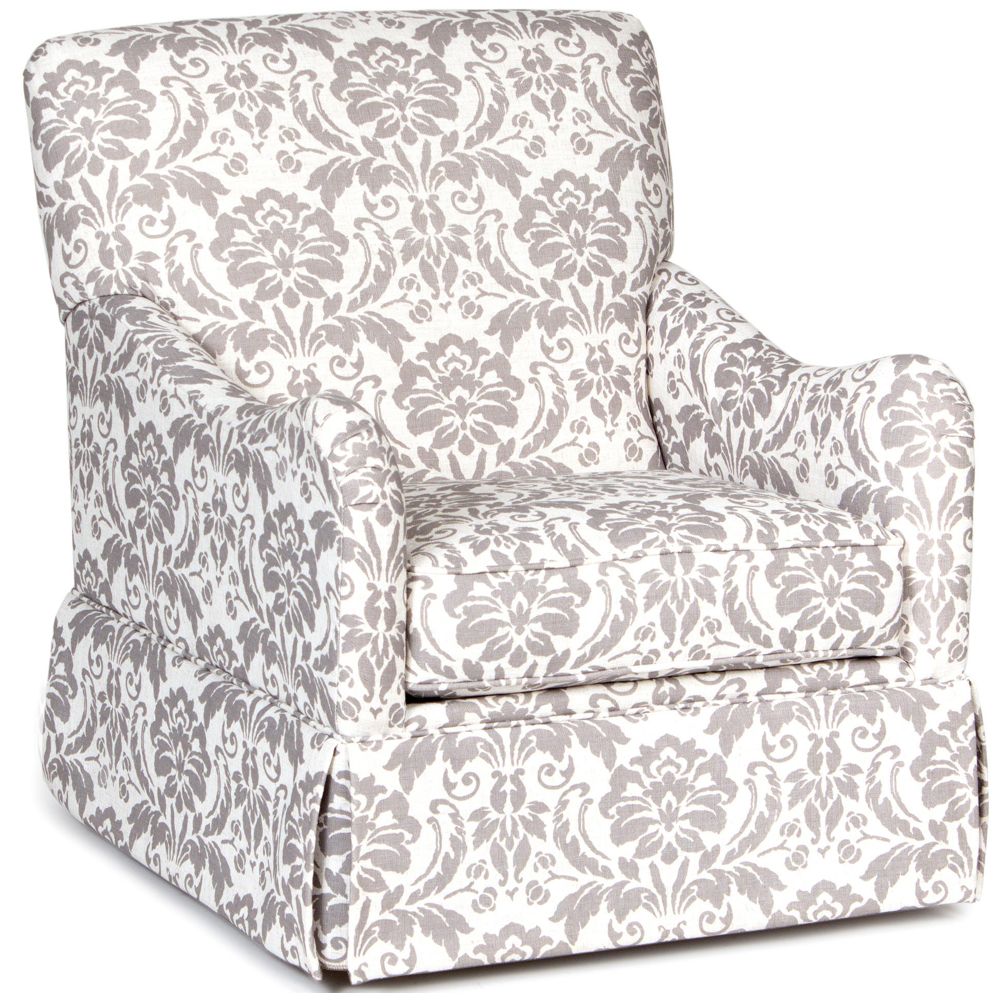 Accent Chairs and Ottomans Traditional Glider Accent Chair by Chairs America at Zak's Home