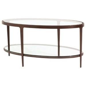 Ellipse Cocktail Table