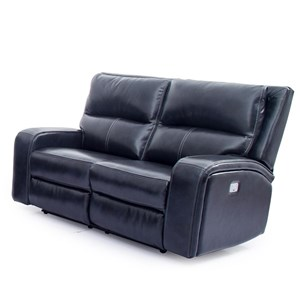 Reclining Power Loveseat with Power Headrests