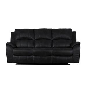 Power Headrest Reclining Sofa with USB Ports