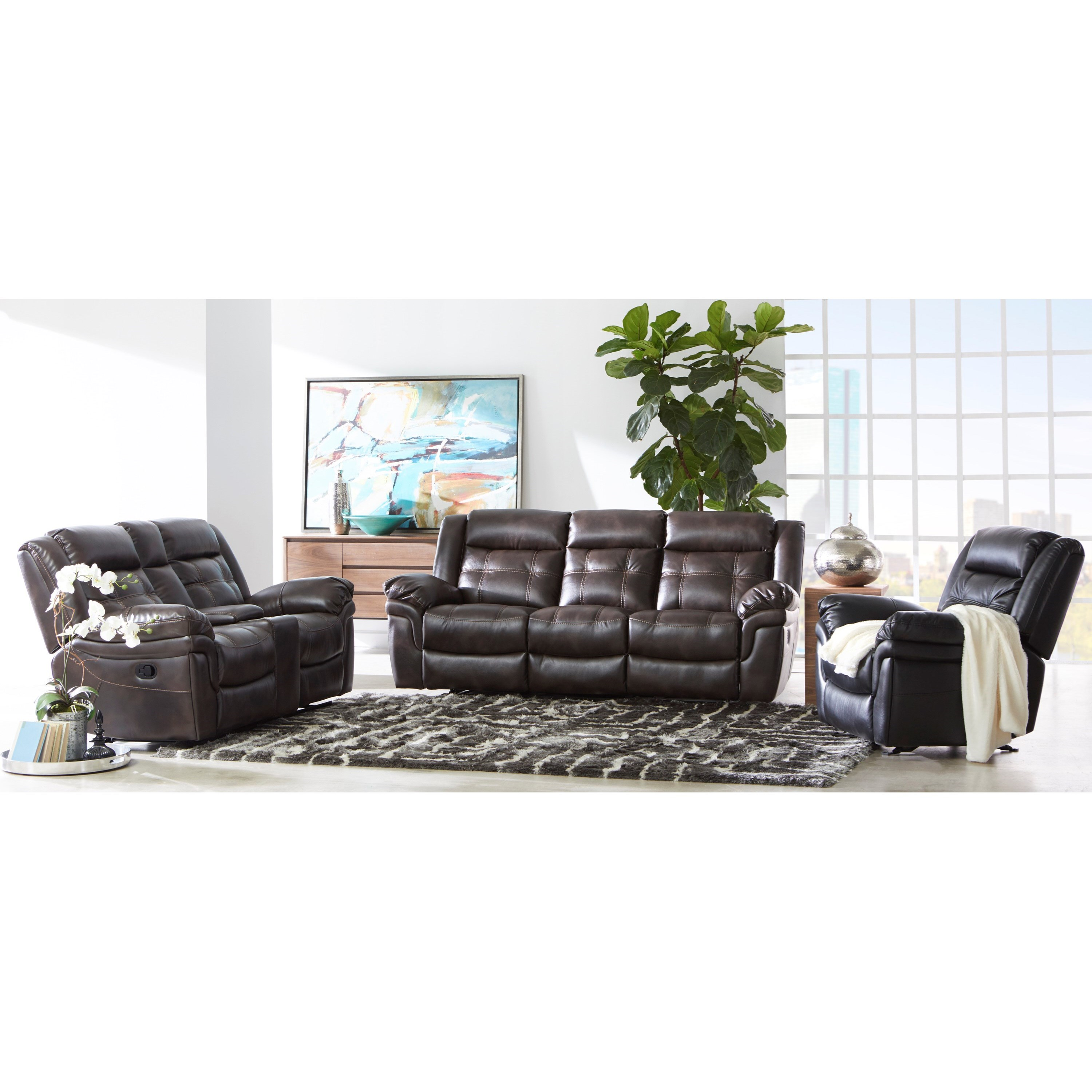 5700 Reclining Living Room Group by Cheers at Del Sol Furniture