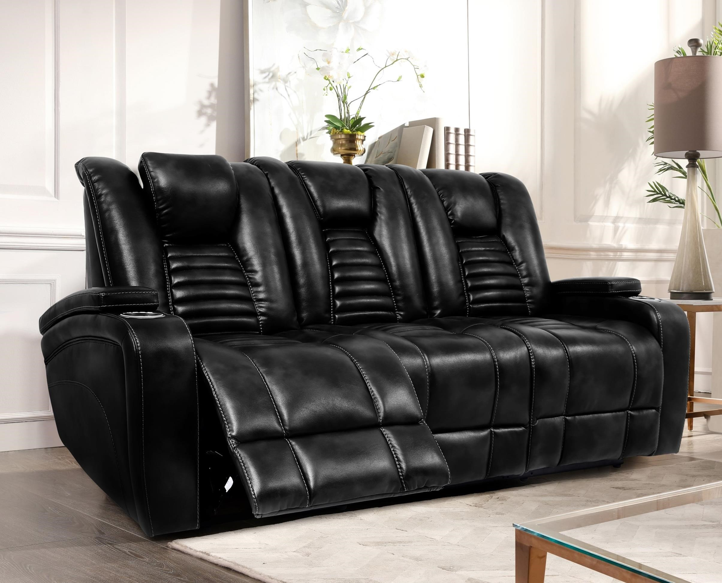 70051 Dual Power Reclining Sofa by Cheers at Lagniappe Home Store