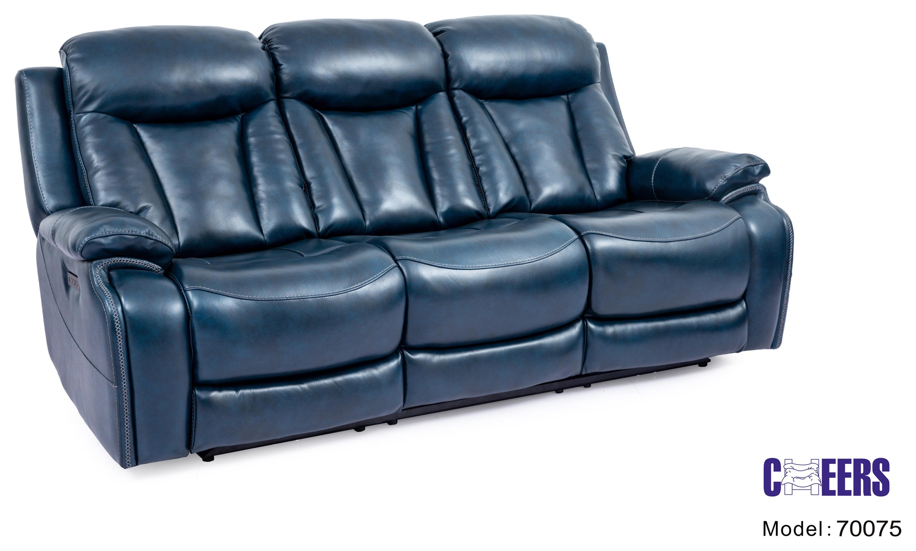 70075 Power Reclining Sofa with Power Headrest by Cheers at Furniture Fair - North Carolina