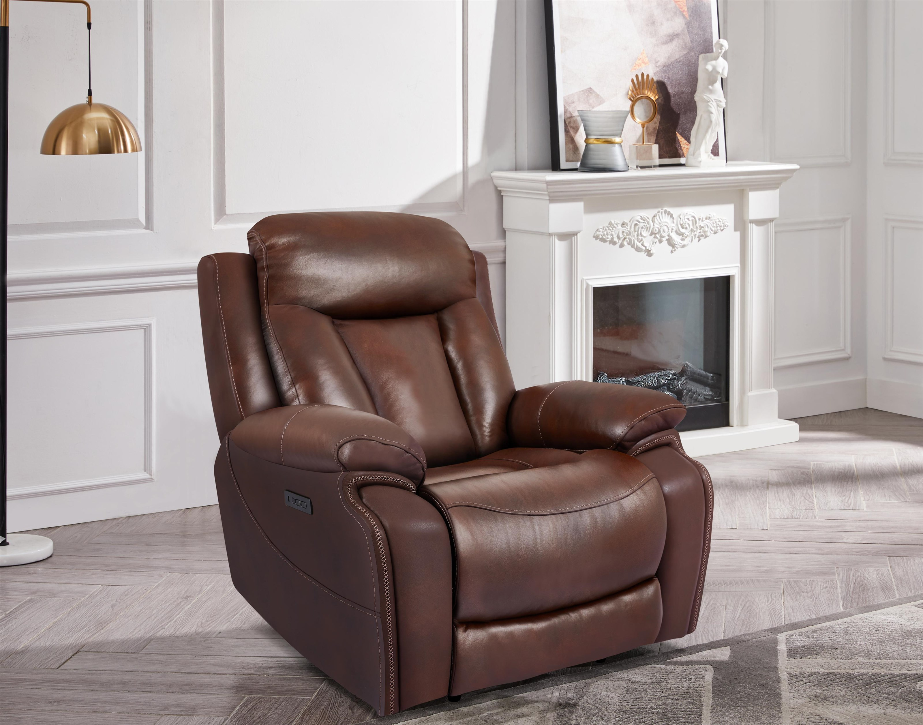 70075 Power Recliner with Power Headrest by Cheers at Furniture Fair - North Carolina