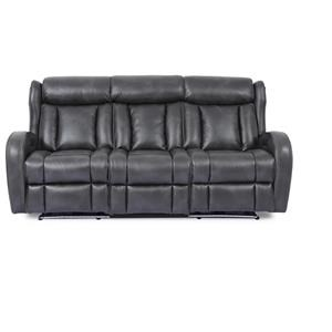 Power Headrest Sofa with Lights and Drop Down Table