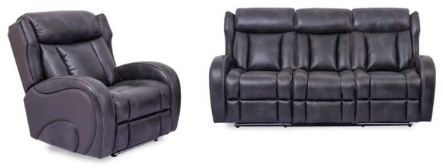 2 PC Power Reclining Living Room Set