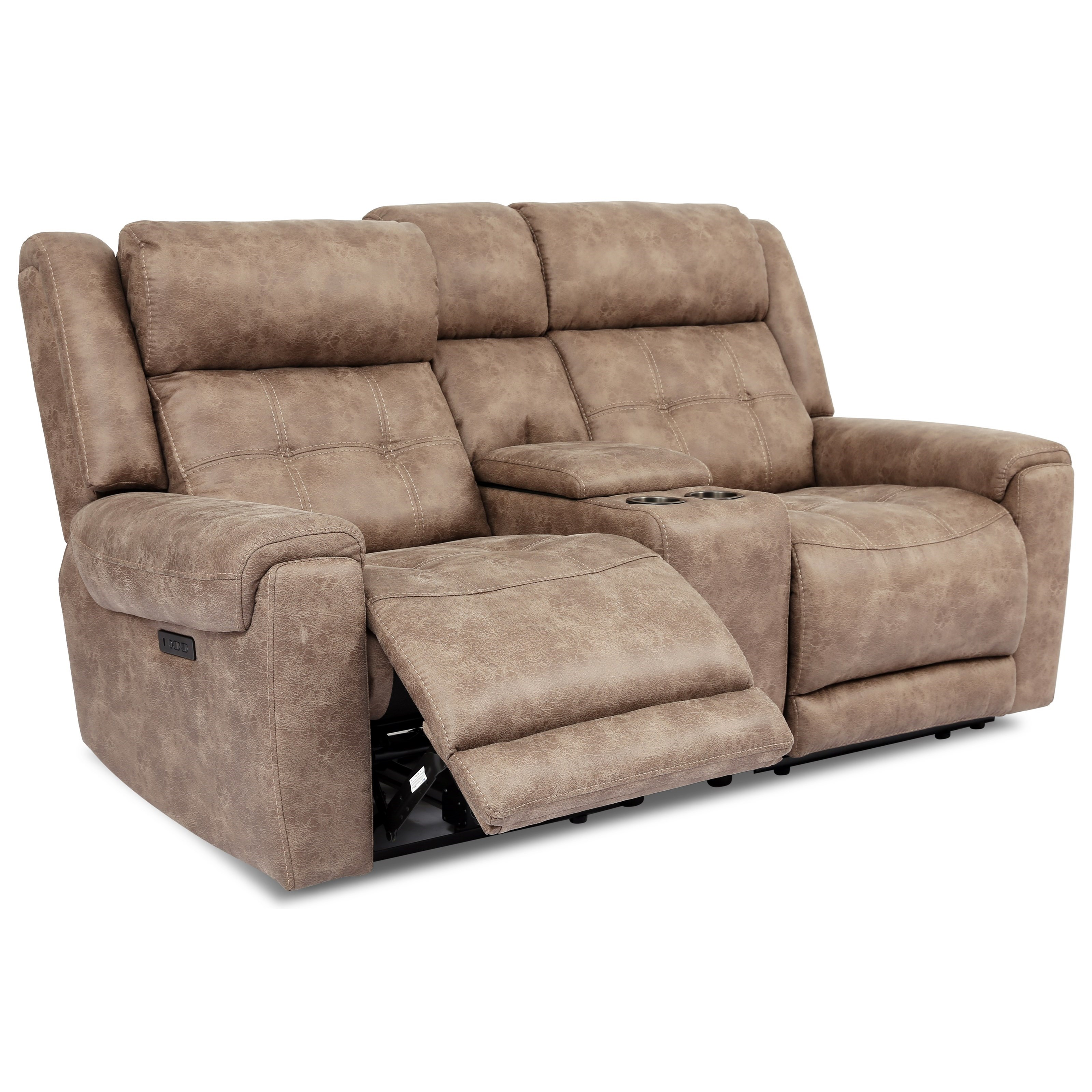 70115 Power Reclining Loveseat by Cheers at Lagniappe Home Store