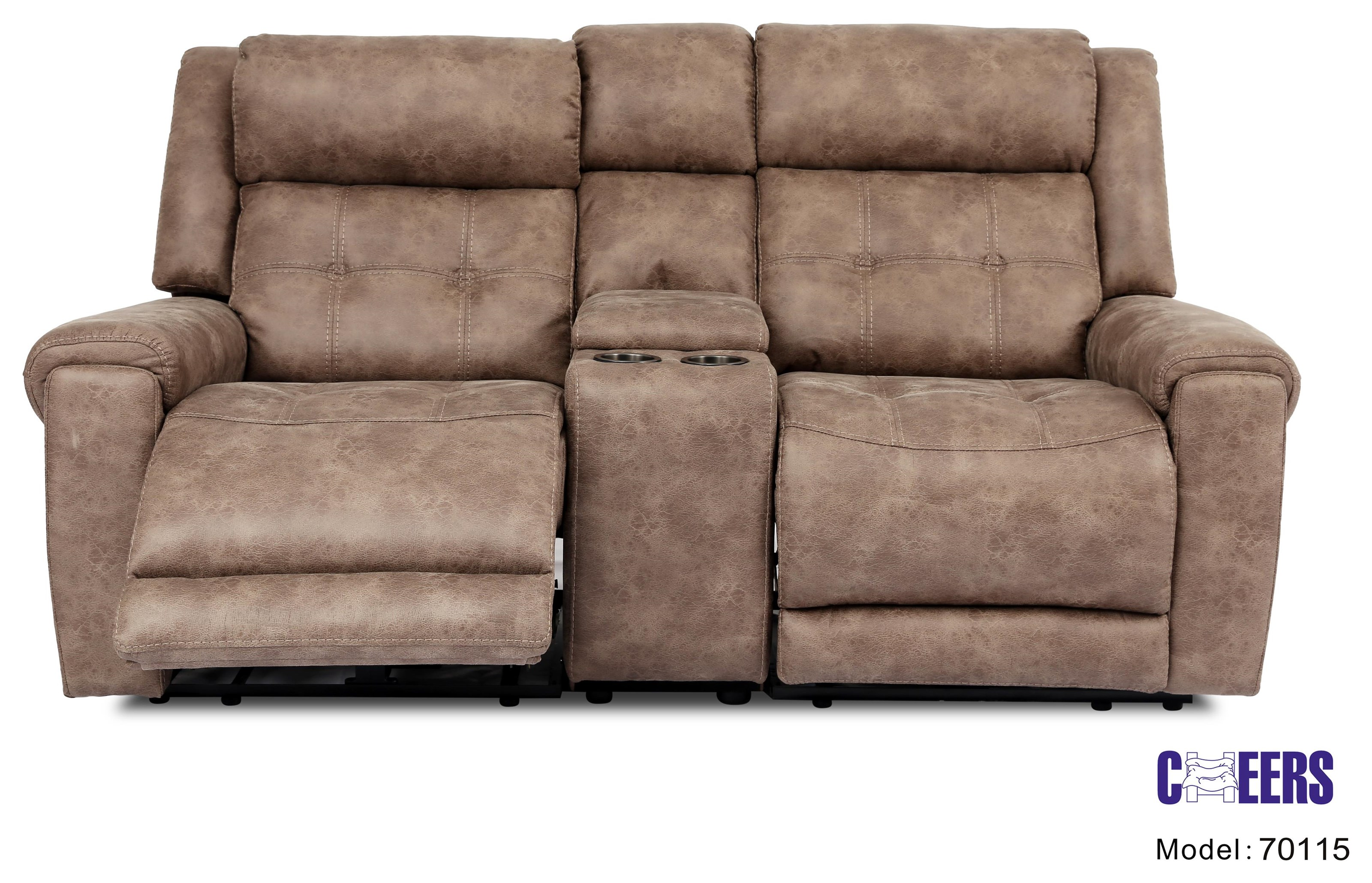 70115 Power Console Loveseat by Cheers at Westrich Furniture & Appliances