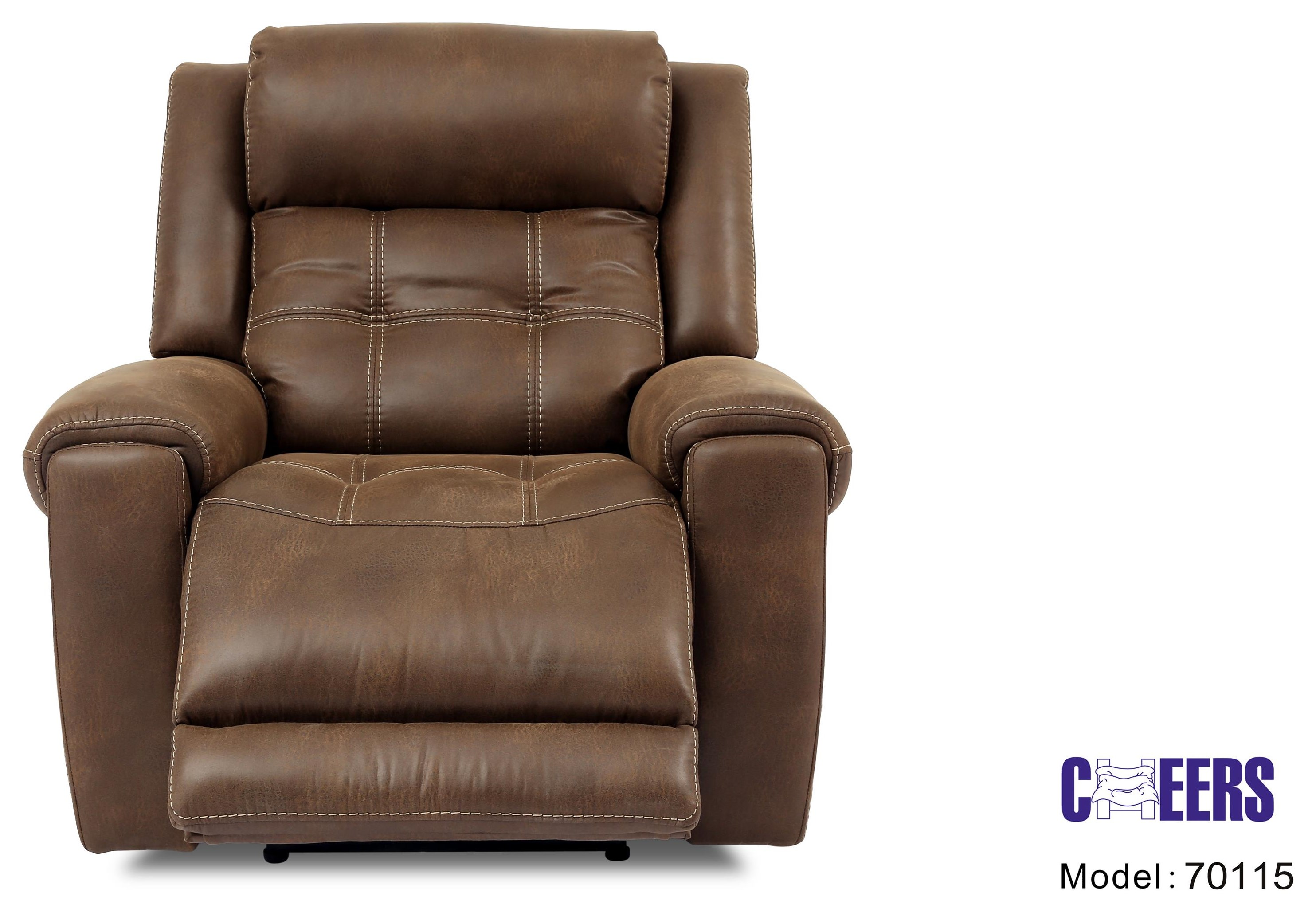 70115 Power Recliner by Cheers at Westrich Furniture & Appliances