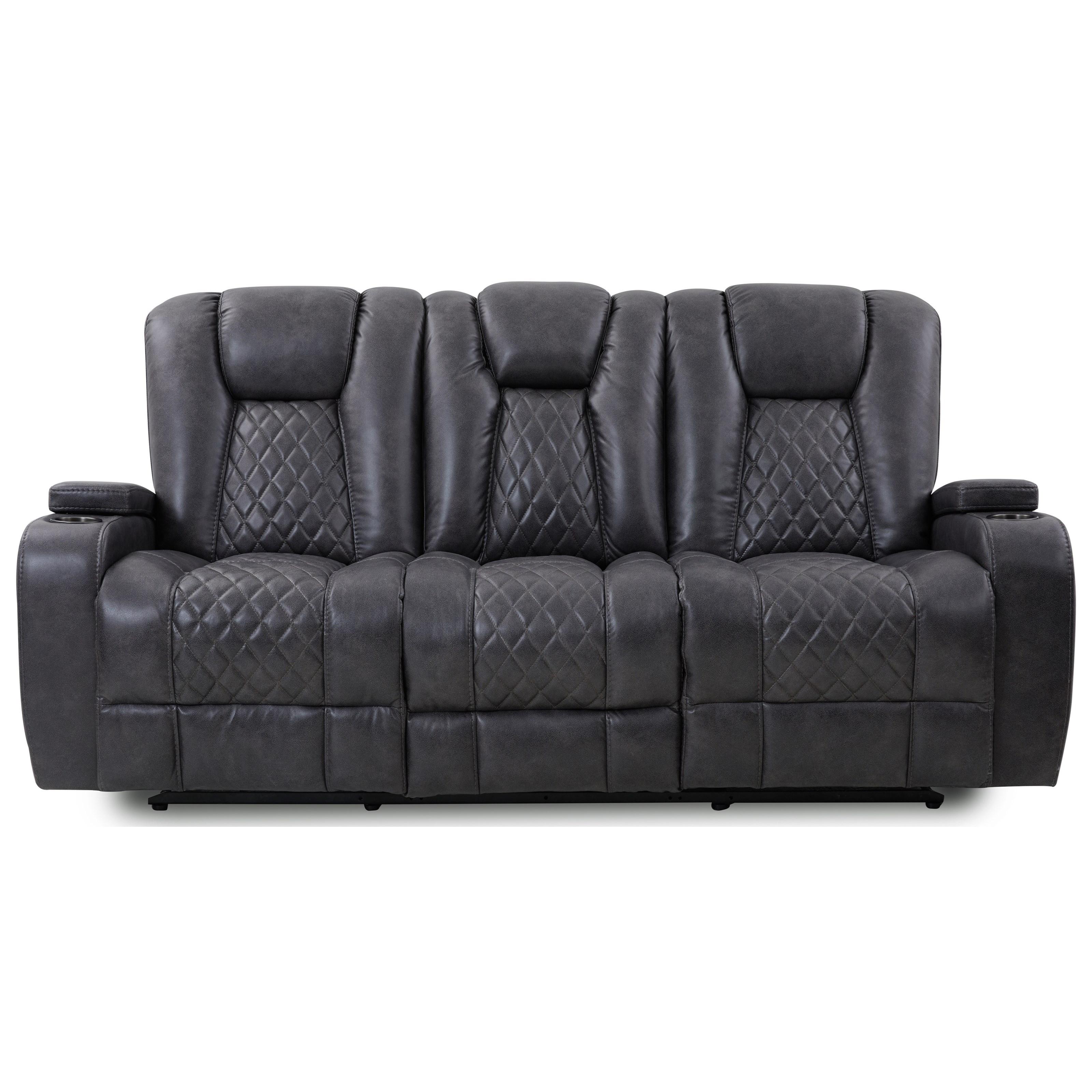 Waylon Reclining Sofa at Walker's Furniture
