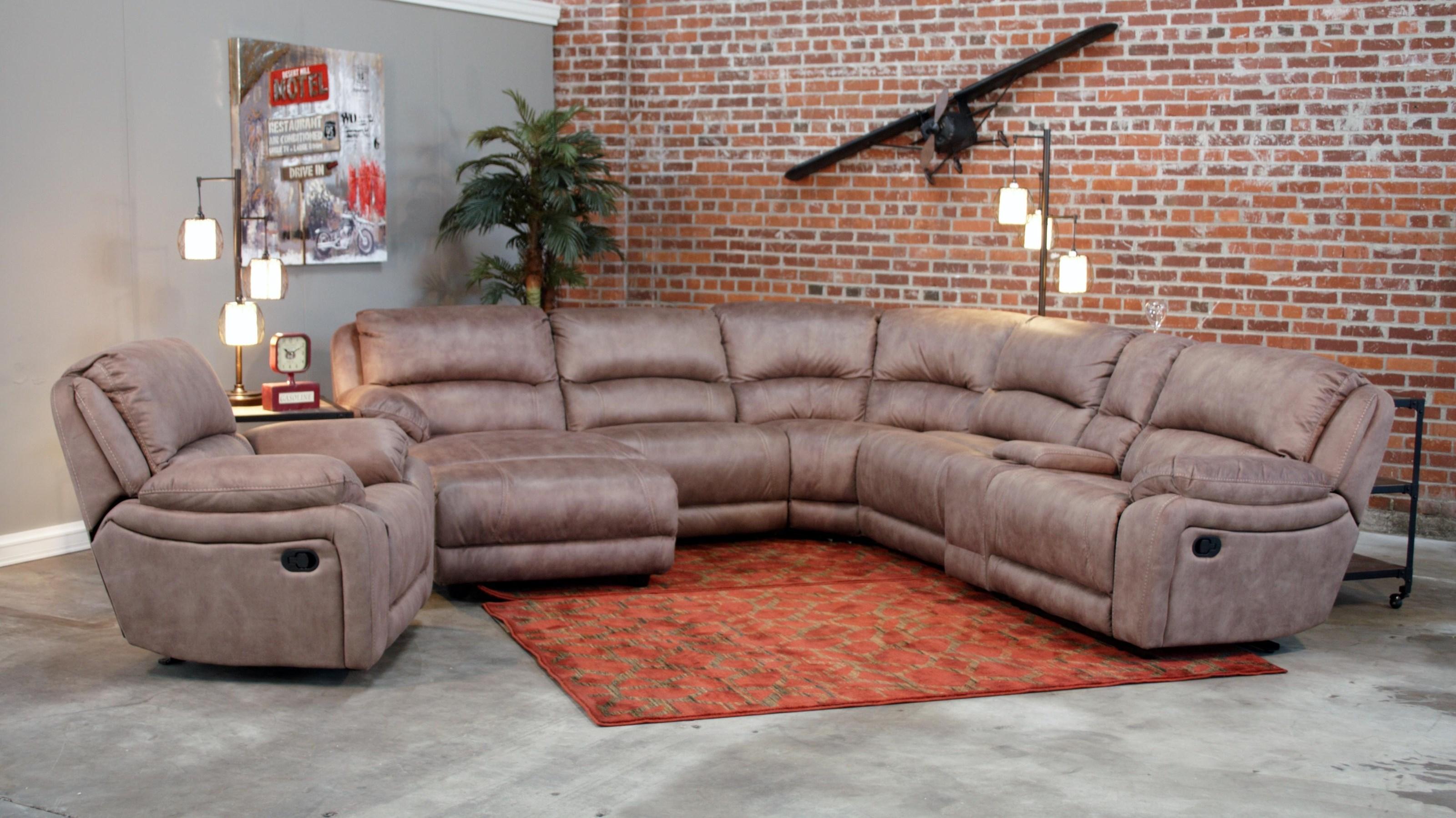8532 MODULAR RECLINING SECTIONAL at Walker's Furniture
