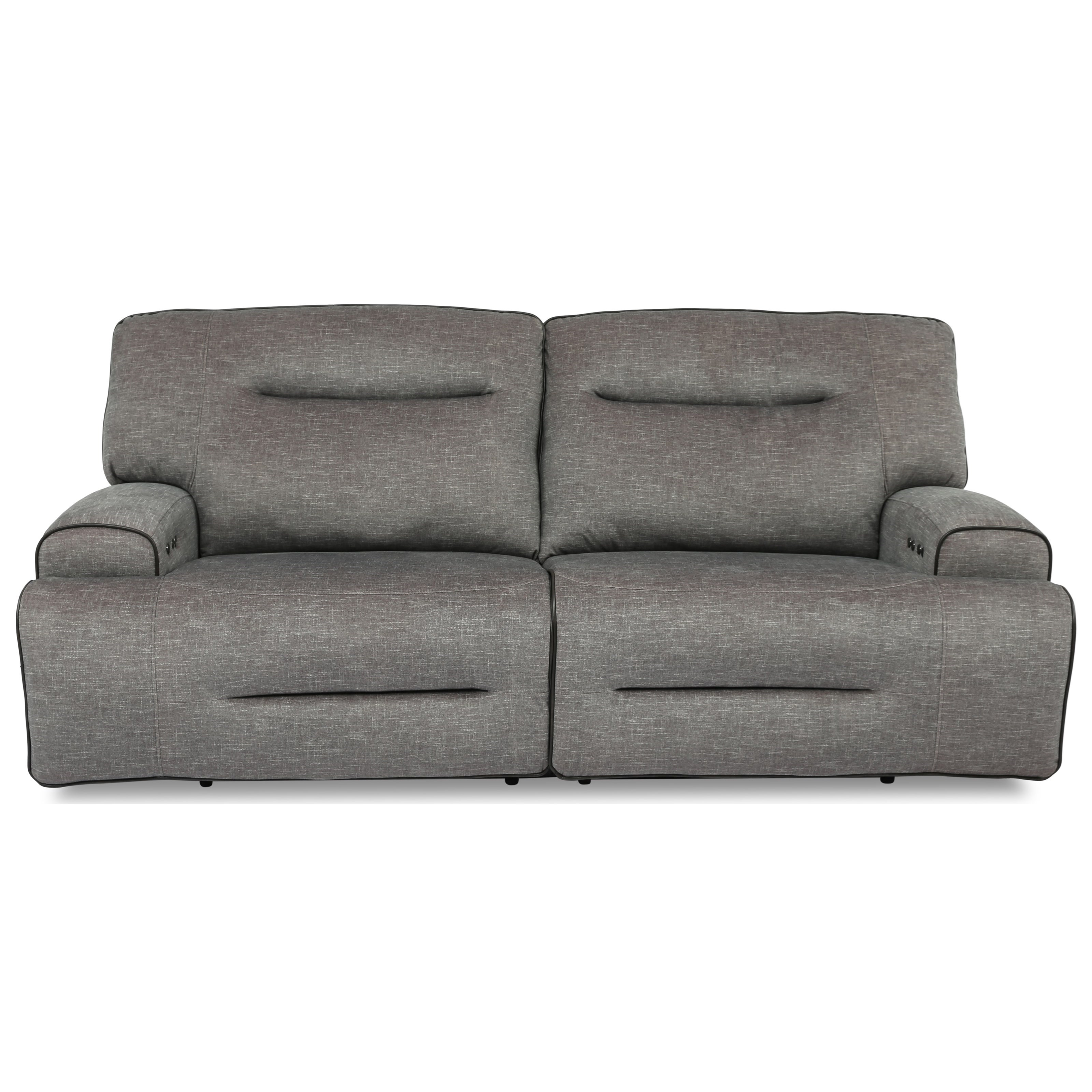 90016 Dual Power Reclining Sofa by Cheers at Household Furniture