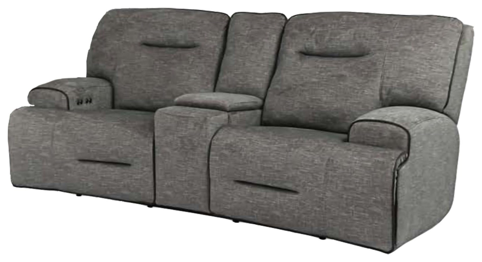 90016 Power Reclining Loveseat with Power Headrest by Cheers at Beck's Furniture