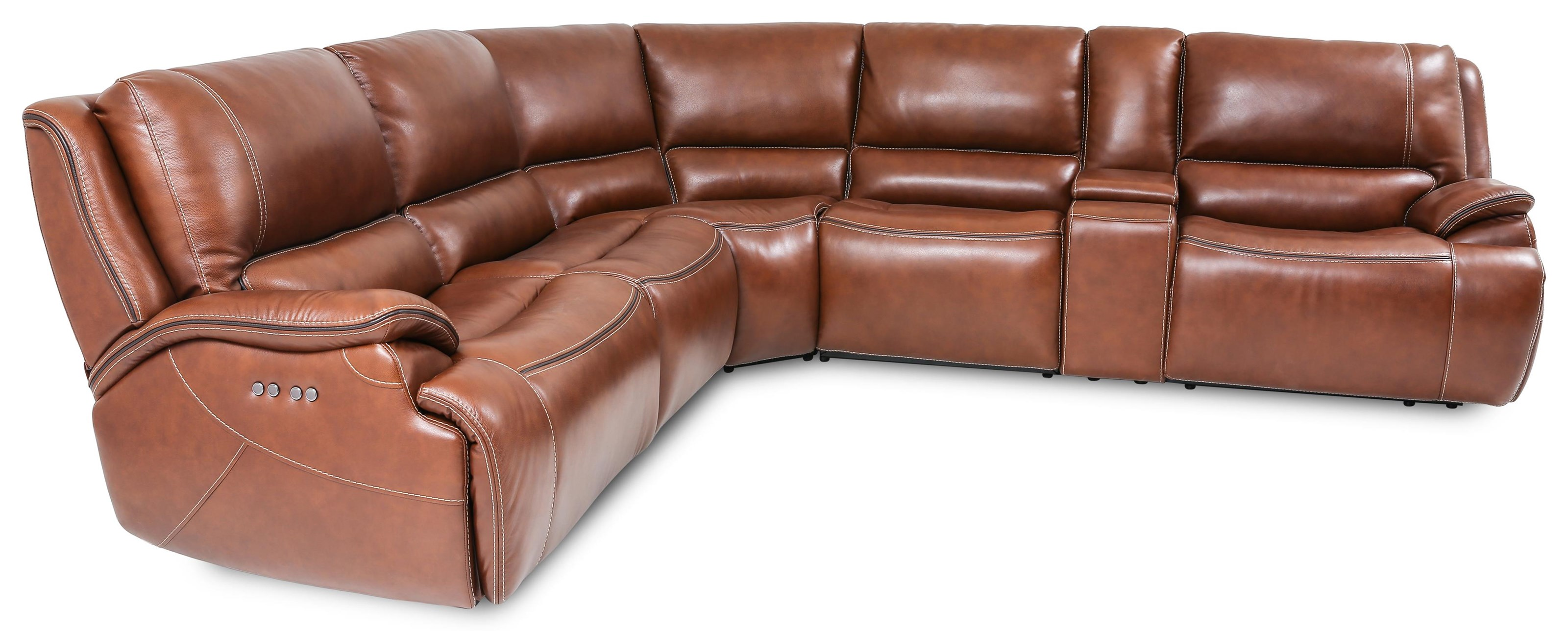 90019 6-Piece Power Reclining Sectional Sofa with by Cheers at Beck's Furniture