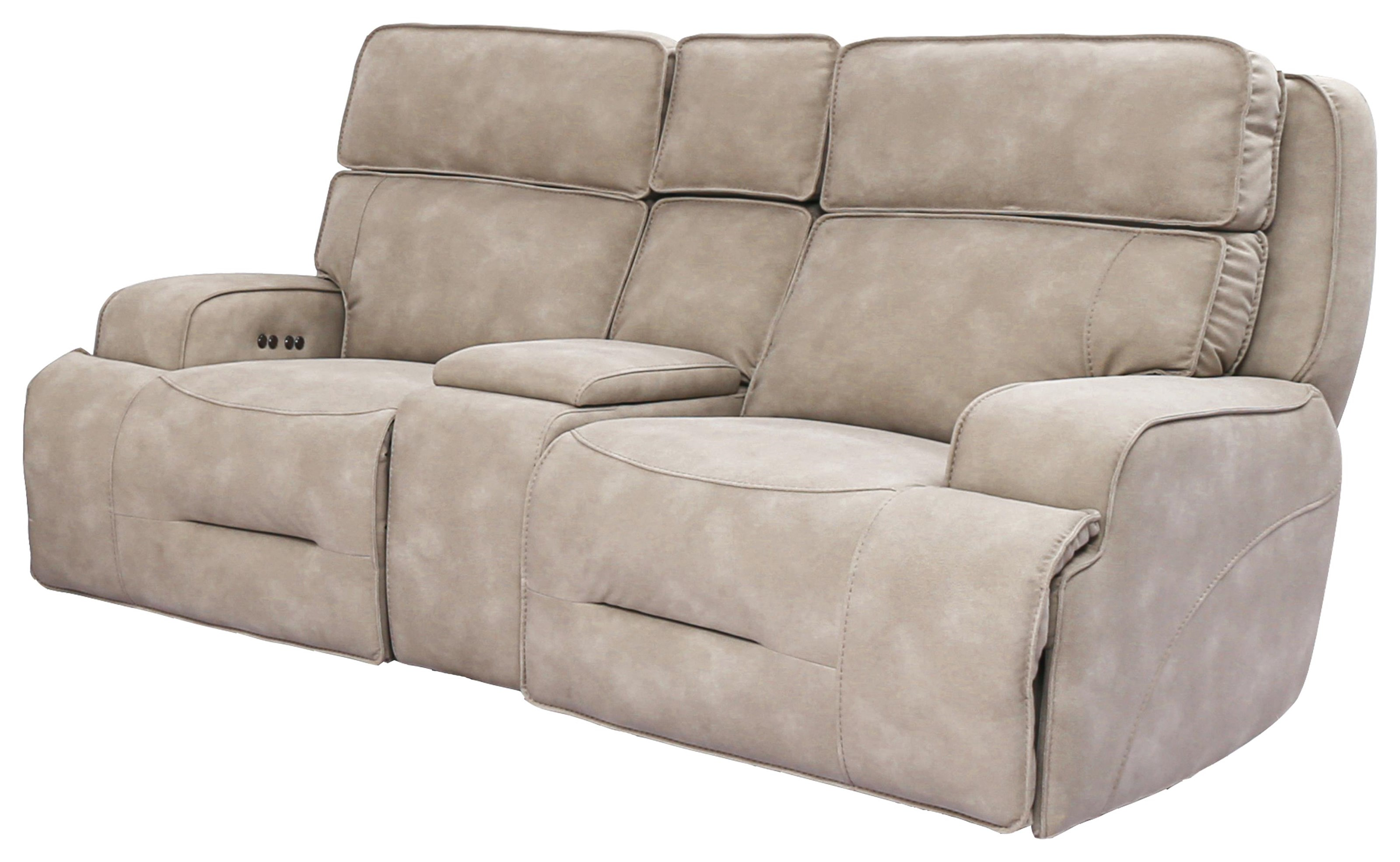 90029 Power Reclining Loveseat with Power Headrest by Cheers at Beck's Furniture