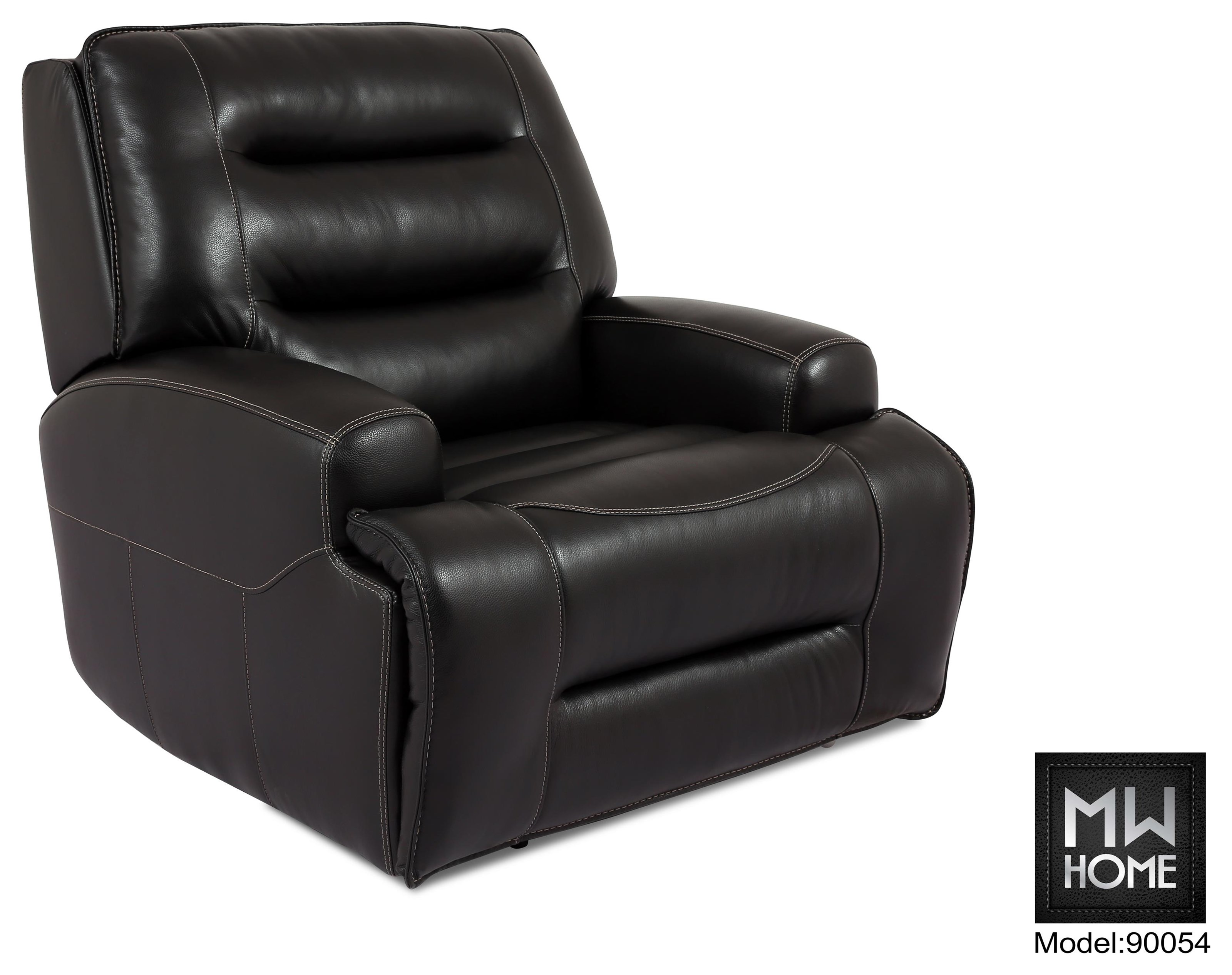 9005 Leather Match Power Recliner by Cheers at Darvin Furniture