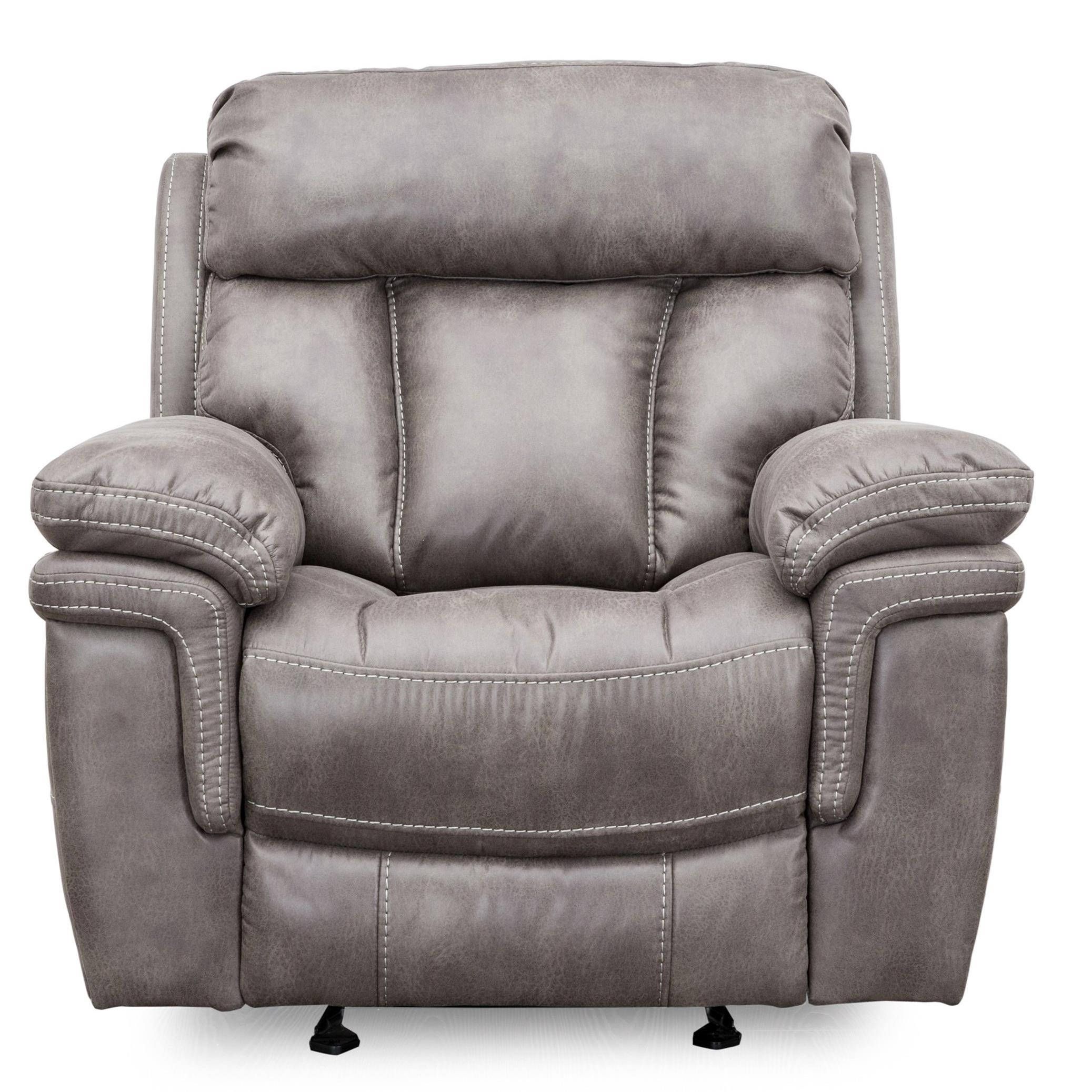 9597 Wallhugger Glider Recliner by Cheers at Household Furniture
