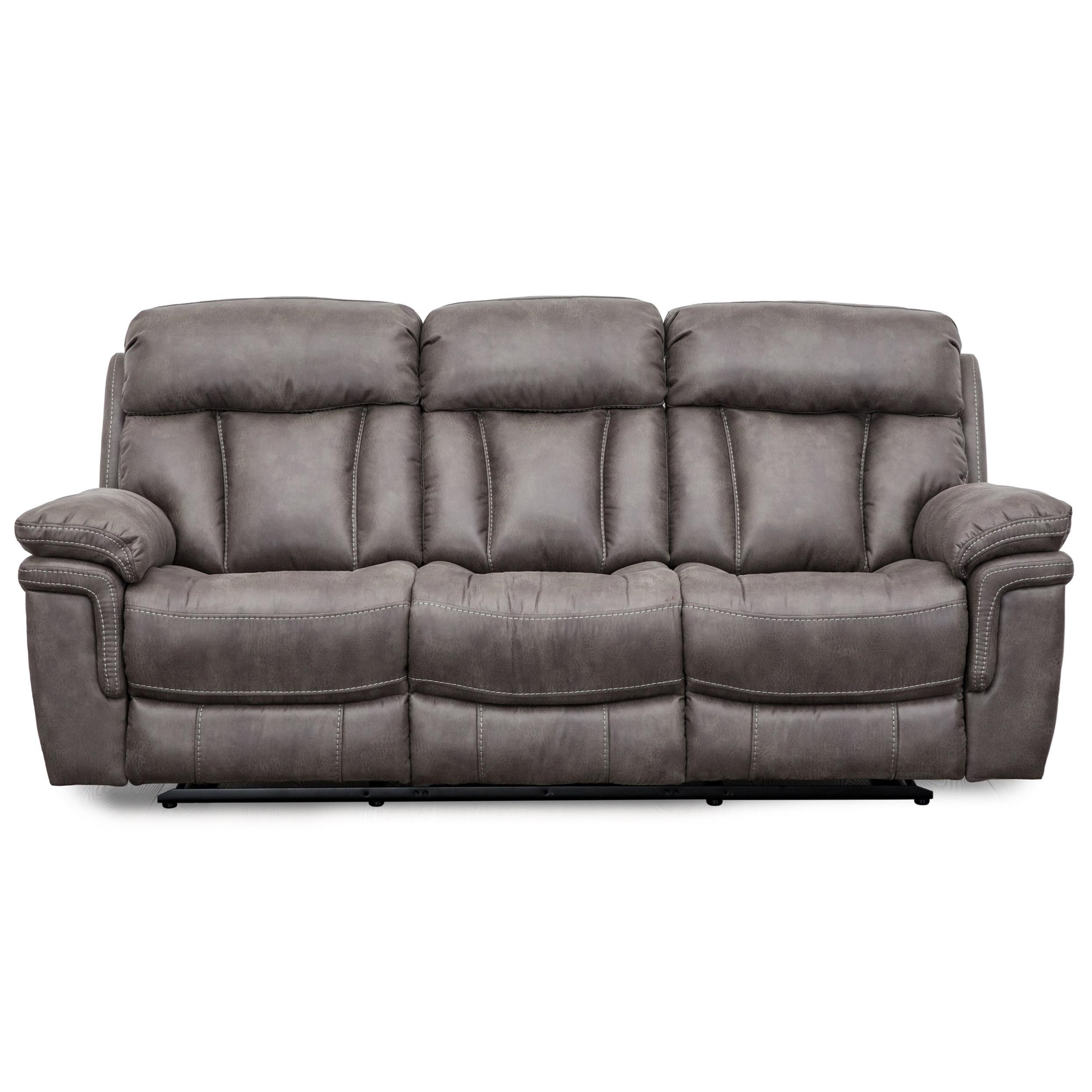 9597 Wallhugger Dual Reclining Sofa by Cheers at Household Furniture