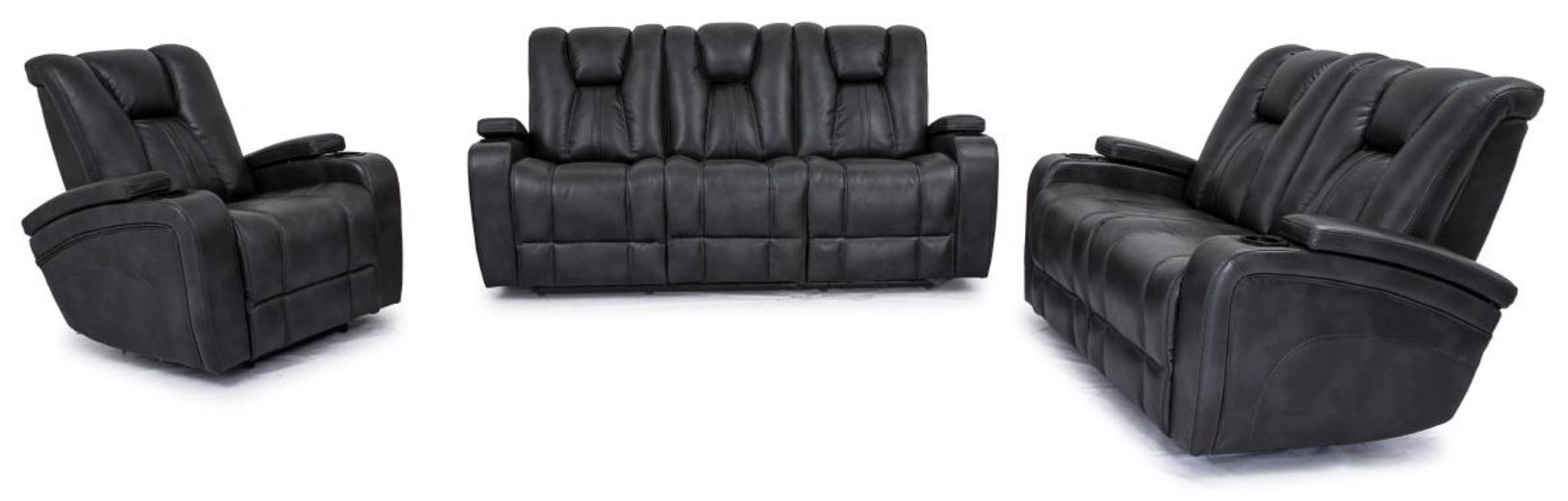3 PC Reclining Living Room Set