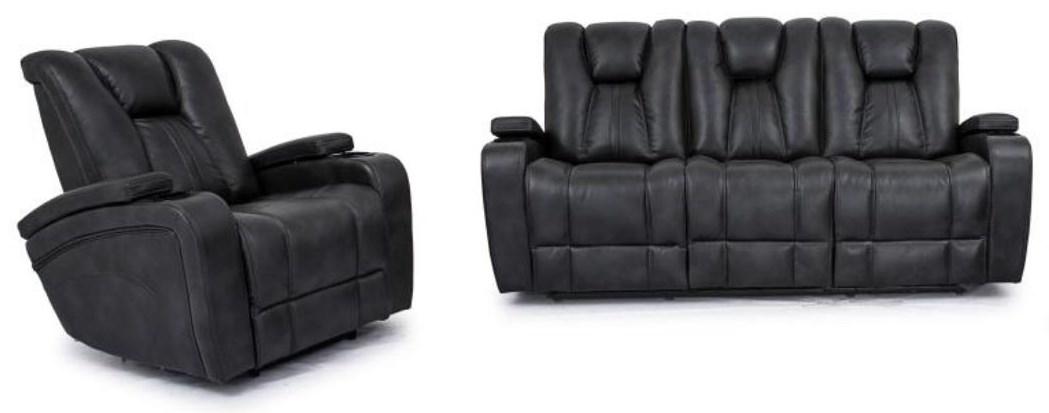 2 PC Reclining Living Room Set