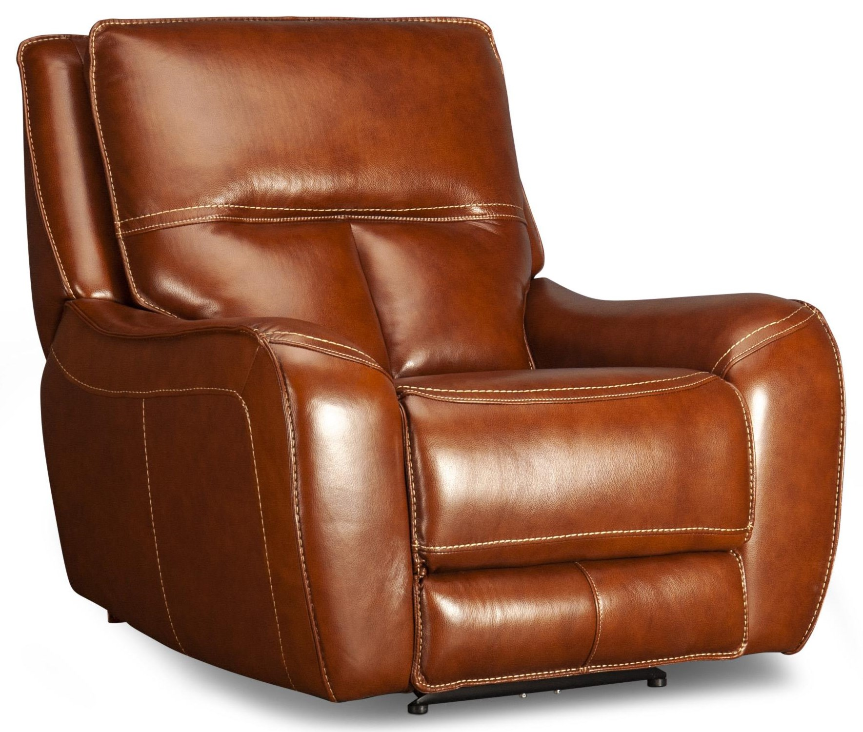 Cora Cora Leather Match Power Recliner at Morris Home