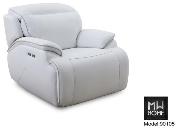 Cosmo Power Recliner by MW Home at Baer's Furniture