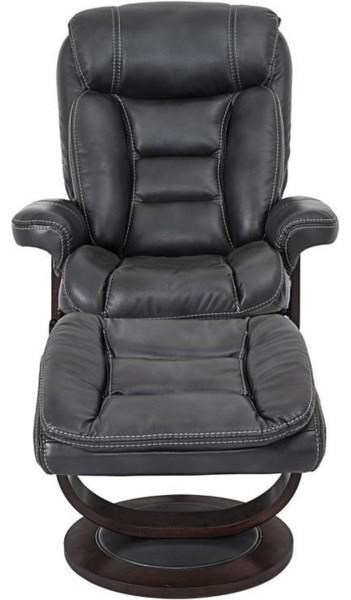 K822 Houck Contemporary Recliner and Ottoman Set at Walker's Furniture