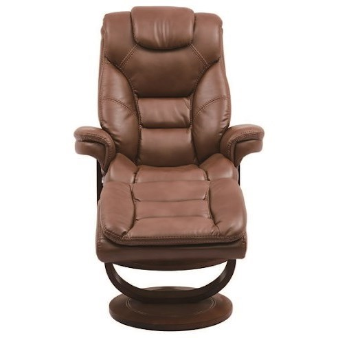 K827 Reclining Chair and Ottoman by Alex Express at Northeast Factory Direct