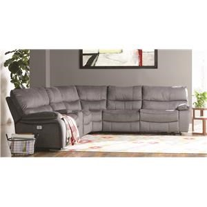 Power Sectional Sofa with Power Headrest